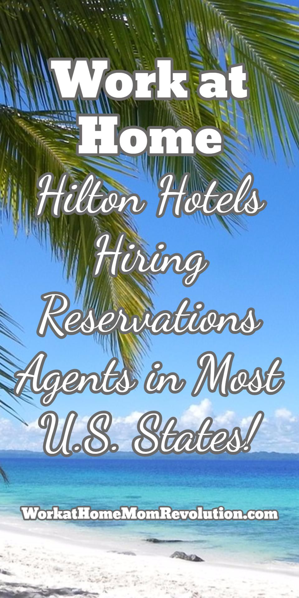 Hilton Hiring Work At Home Reservations Agents In U S