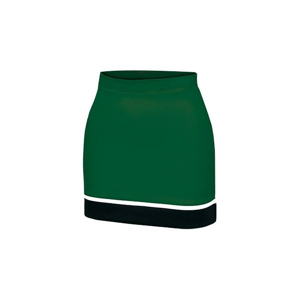 Tri-Color Cascade Cheerleading Uniform Skirt by MJ Soffe - New for... ($27) ❤ liked on Polyvore featuring skirts, cheer, multicolor skirt, multi colored maxi skirt, long colorful skirts, long green skirt and colorful maxi skirts