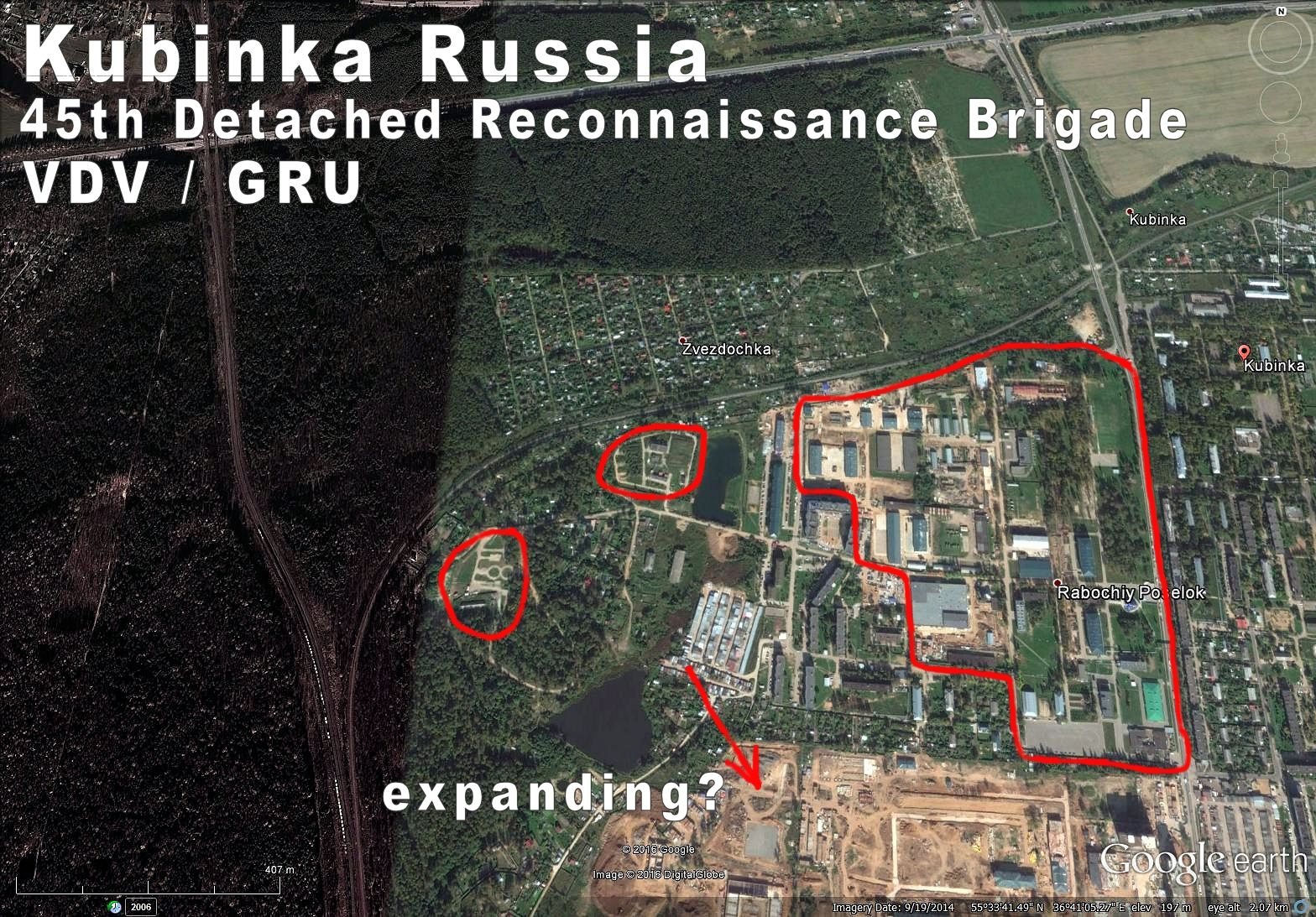 Kubinka Moscow Russia 45th VDVGRU Brigade Kubinka
