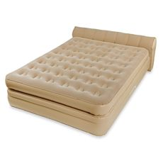 Aerobed Luxury Collection Raised Headboard Bed Bed Bath