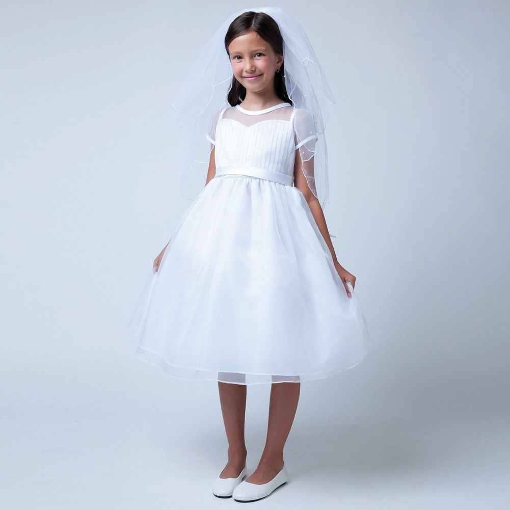 1000  images about Communion on Pinterest - Short sleeves- Girls ...