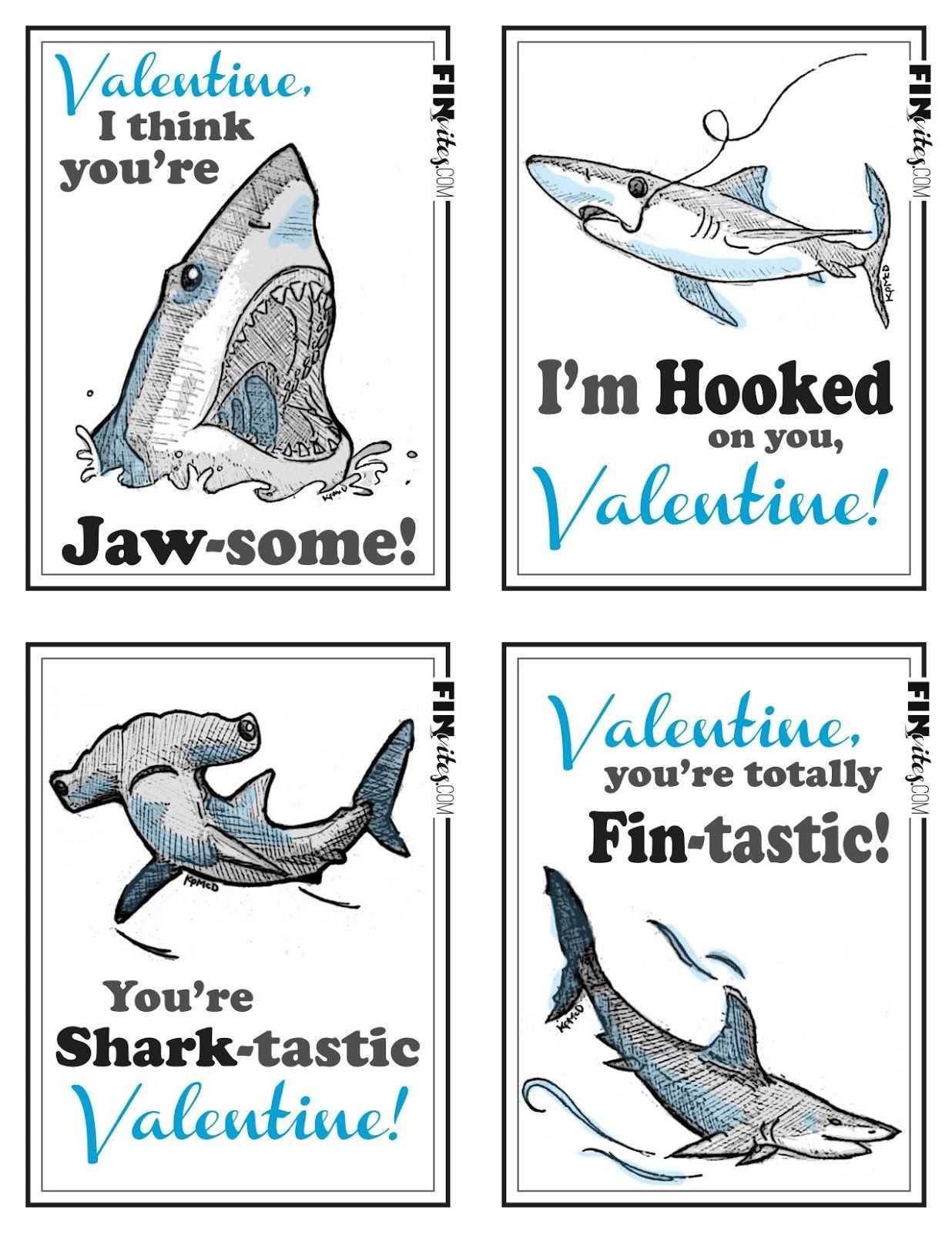 Free FINVITES valentine printables available through KpQuePasa.com ...