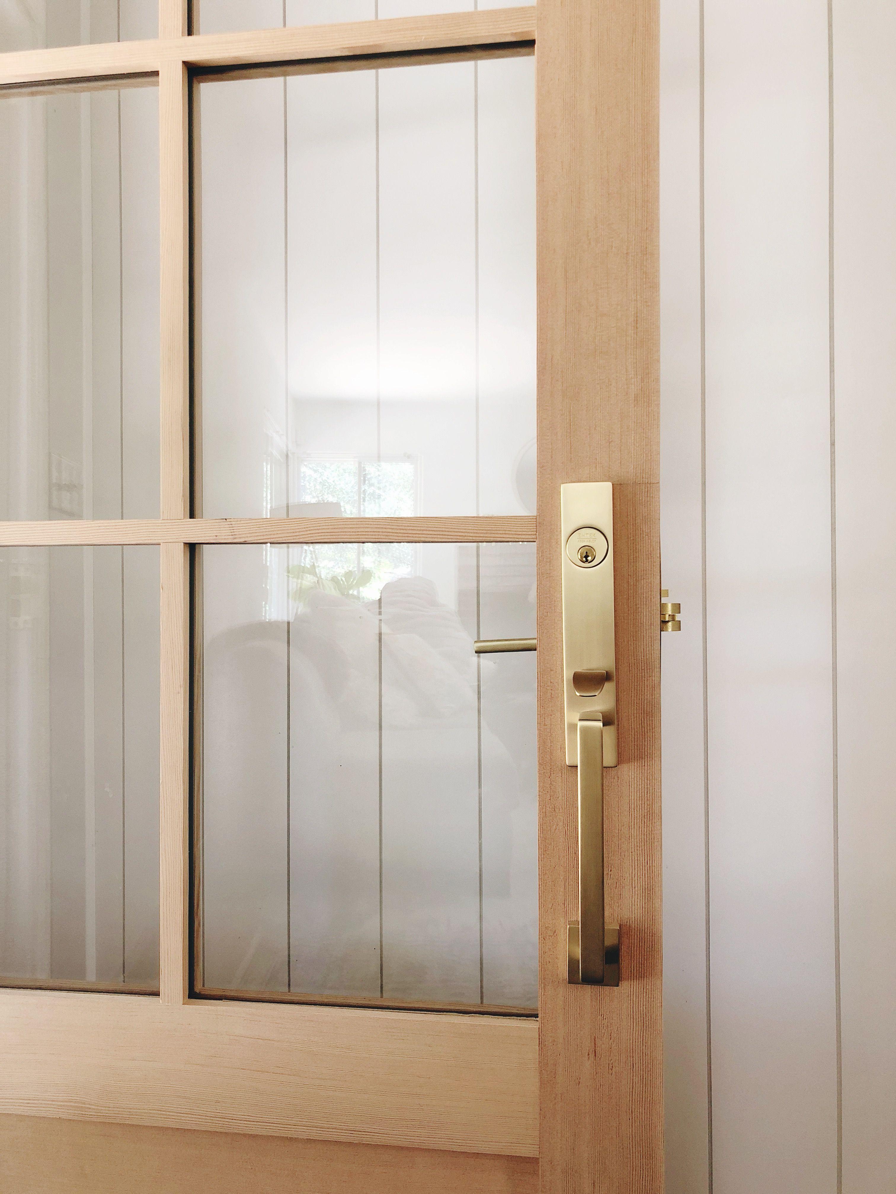 Our New Front Door Update The Vintage Rug Shop Exterior Door Hardware Front Door Hardware Front Door Handles