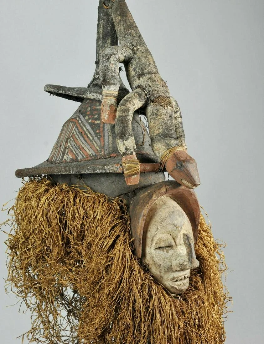 For Auction Yaka Initiation Mask Congo Rdc Bayaka Provenance 39 On Dec 27 2019 Jasper52 In Ny Congo Mask Lion Sculpture