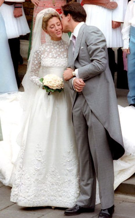 Crown Princess Marie Chantal of Greece from So Many Royal Wedding ...