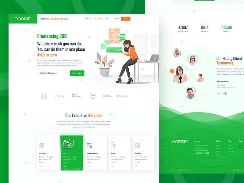 Freelance Website Design Freelancer Website Website Design Corporate Web Design