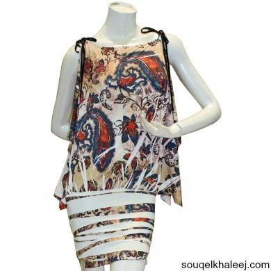 Fancy #Ladies_Dress bluza mix colour medium [106] made in USA. Shop Now @ souqelkhaleej.com