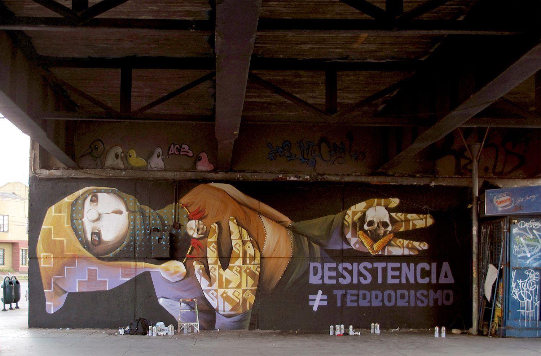Resistencia NO es Terrorismo..  Valparaiso, Chile 2013