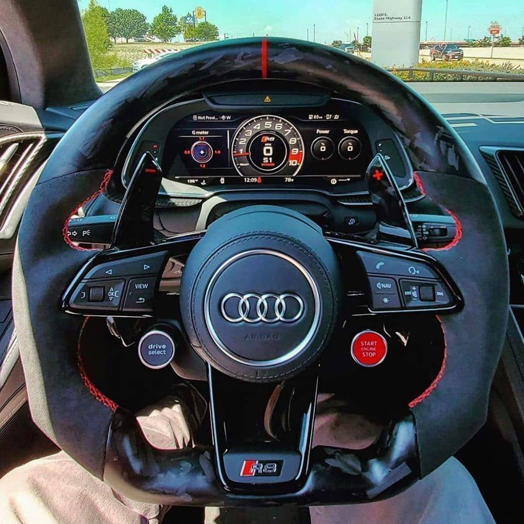 Audilooo Ver On Instagram Unique Audi R8 Steering Wheel Save Money On Tuning Parts Ultimatecustomsuk 10 Audi Wagon Luxury Cars Audi Dream Cars Audi