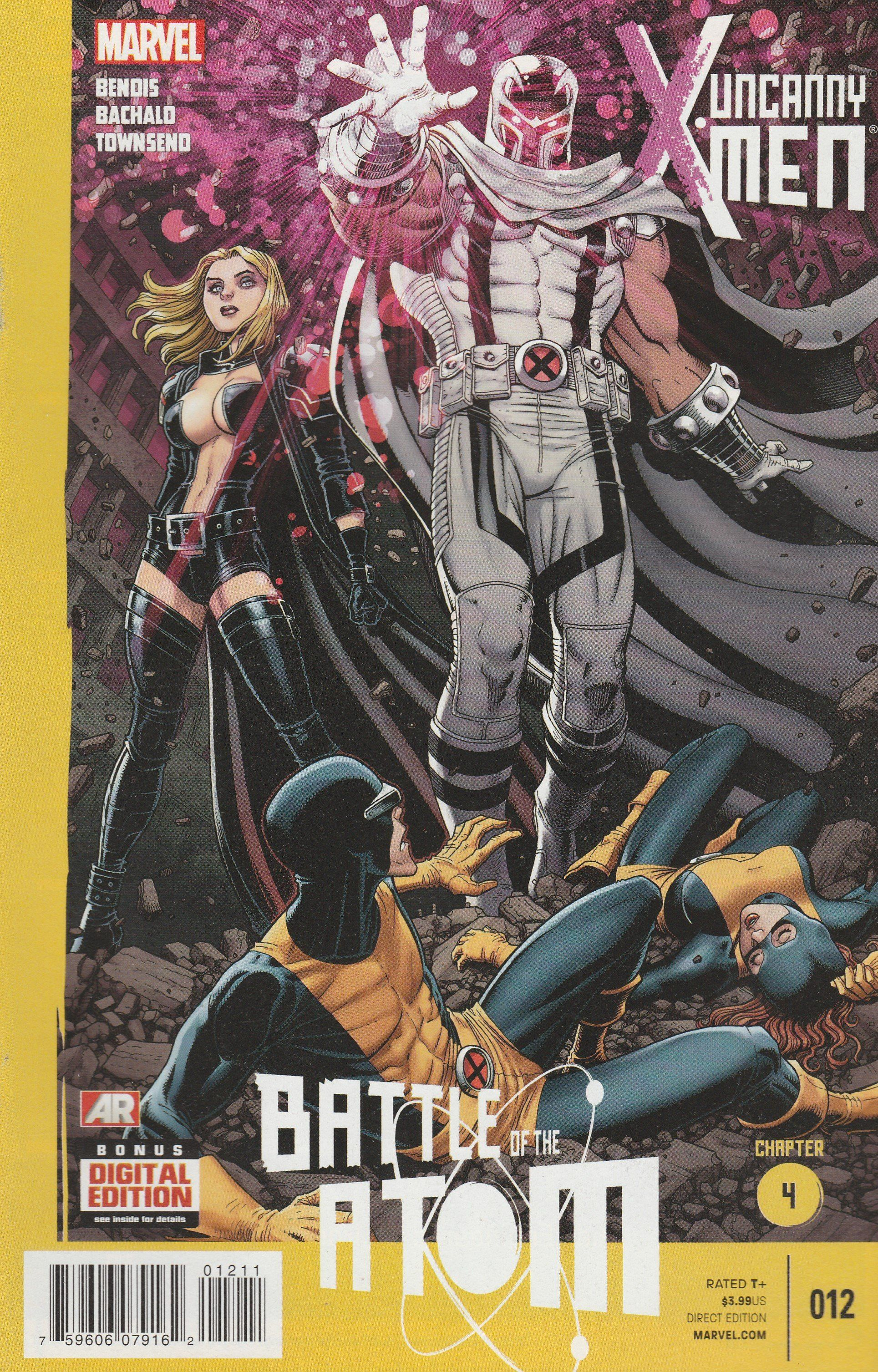 Battle Of The Atom Part 4 Brian Michael Bendis Writer Chris Bachalo Artist And Arthur Adams Cover Art The Uncanny X Men Enter X Men Atom Comics Comics