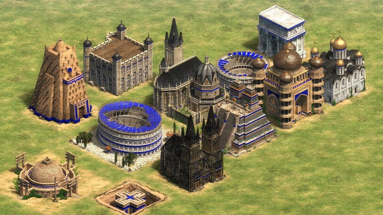 Every Buildiing Collapsing Age Of Empires 2 Definitive Edition Age Of Empires Empire Age