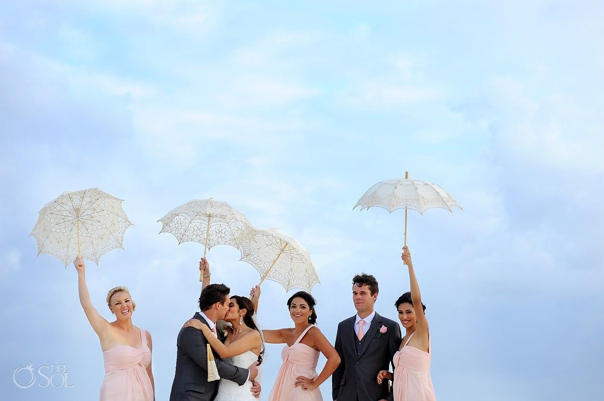 Destination wedding at blue bay grand esmeralda ale and rohan