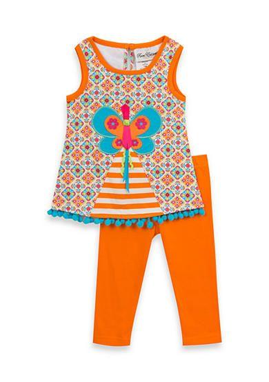 baf8317e1b43 Rare Editions 2-Piece Butterfly Pant Set | TT Summer Blaze ...