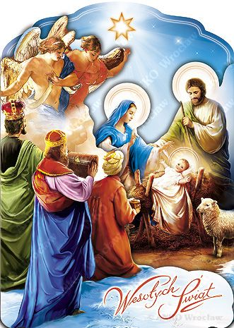 Pin by Magda K-ska on Catholics | Christmas decorations, Holy night, Christmas