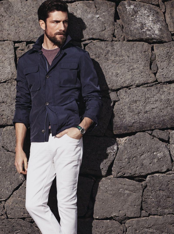Mathias Lauridsen Cedric Bihr Pose For H E By Mango