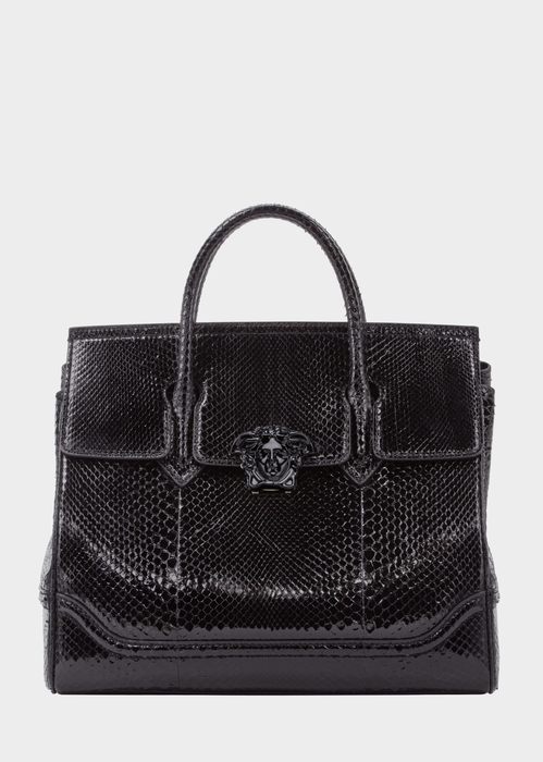 2a96e539b8 Versace Python Palazzo Empire Bag for Women | US Online Store ...