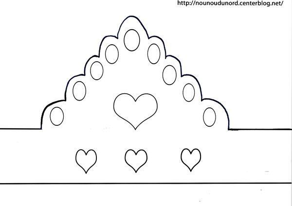 Couronne princesse imprimer f te des rois pinterest couronne princesse couronnes et prince - Couronne princesse a decorer ...