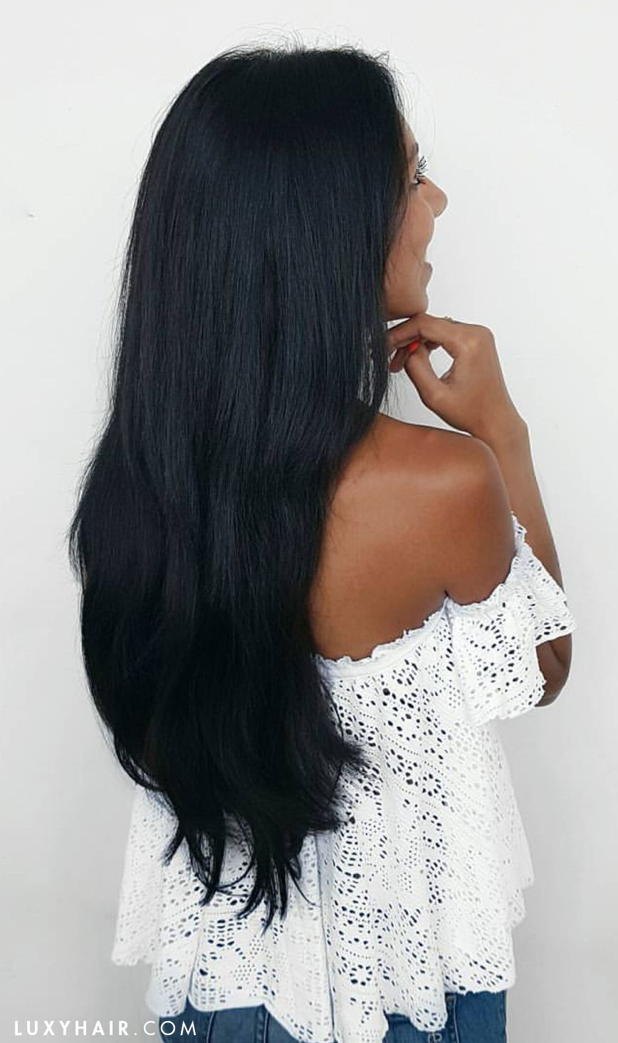 20 classic off black clipins 20 220g hair color