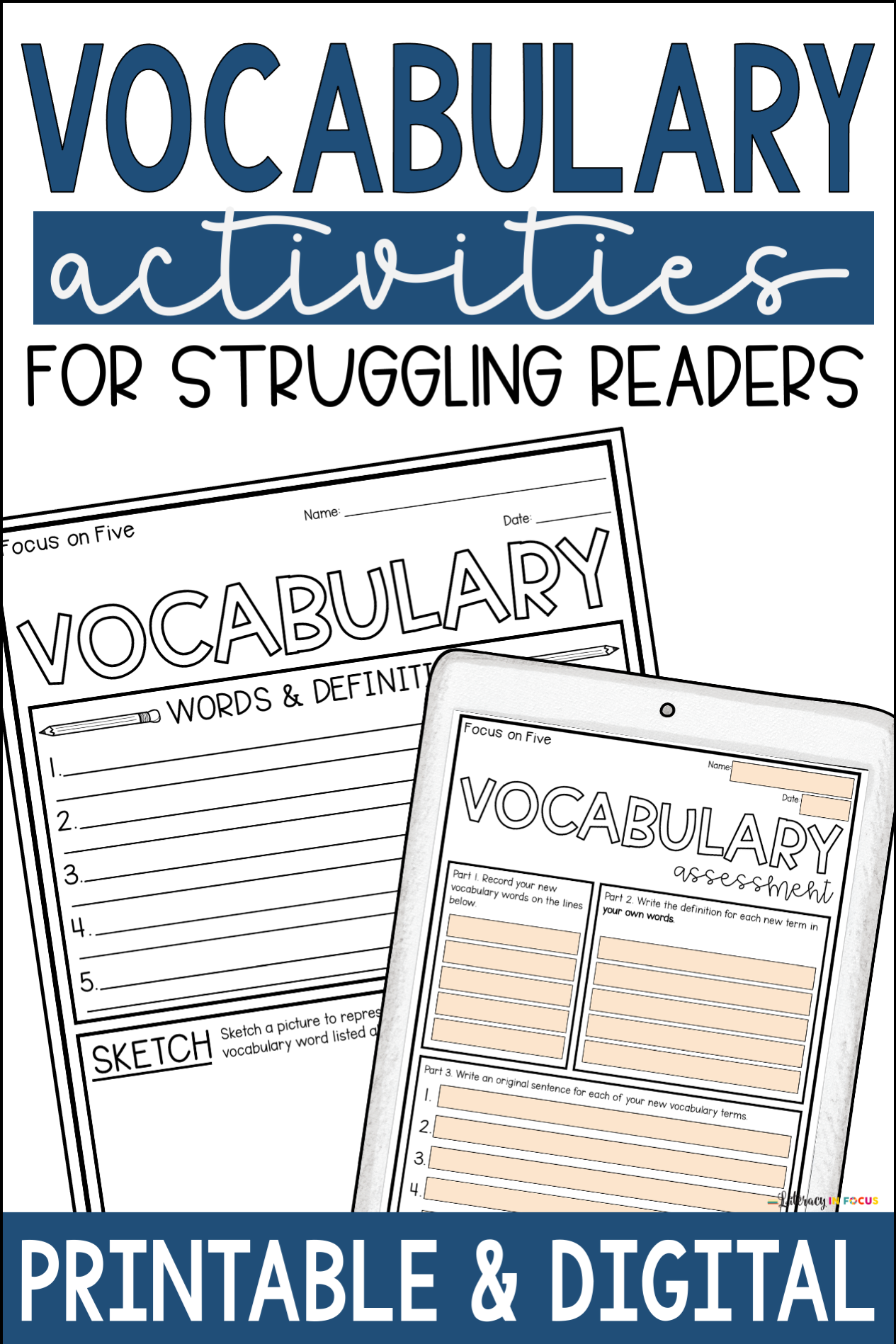 hight resolution of Vocabulary Worksheets for Elementary and Middle School Students    Vocabulary activities