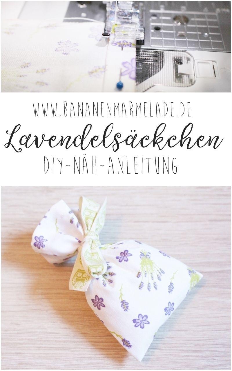 Sewing Steps On Sunday Nähanleitung Lavendelsäckchen