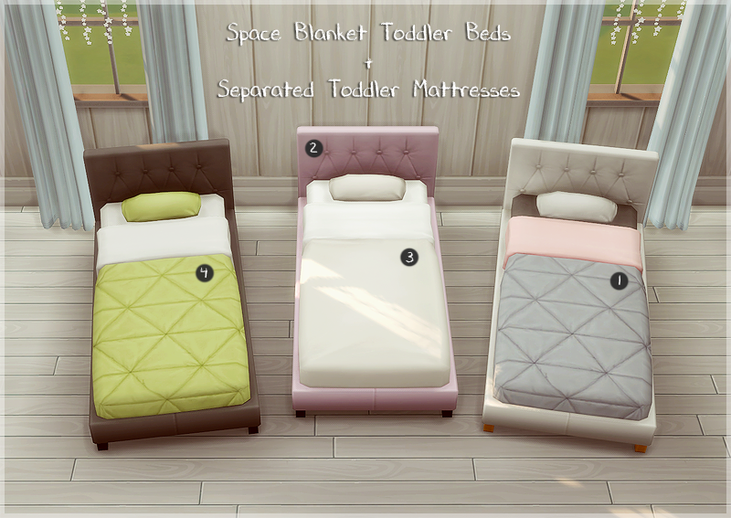 Etagenbett Sims 4 : Lana cc finds space blanket toddler beds sims 4 custom content