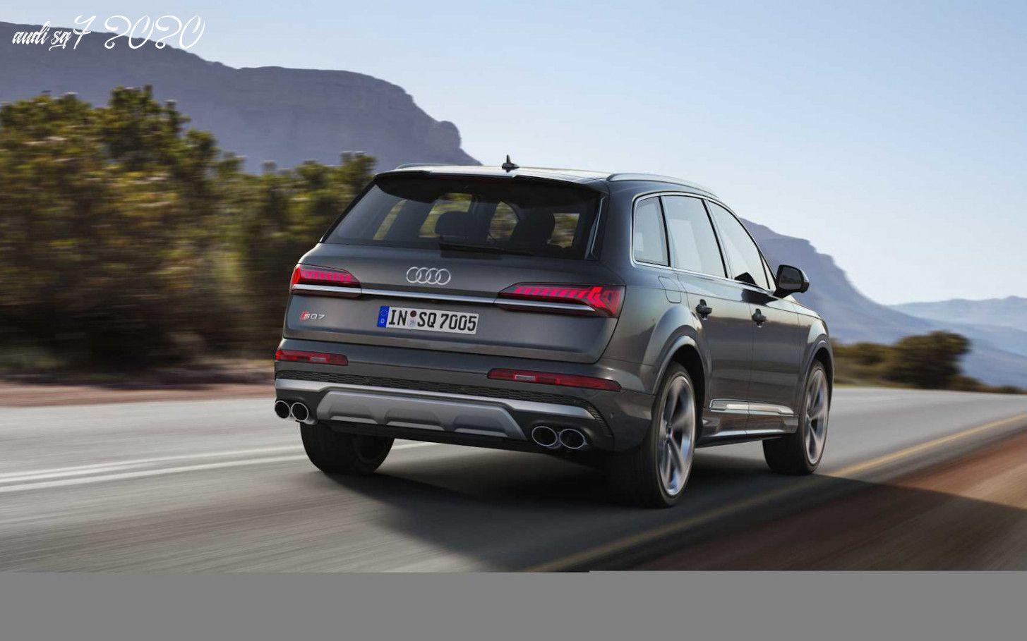 Audi Sq7 2020 In 2020 Audi Usa Luxury Suv Audi Q7