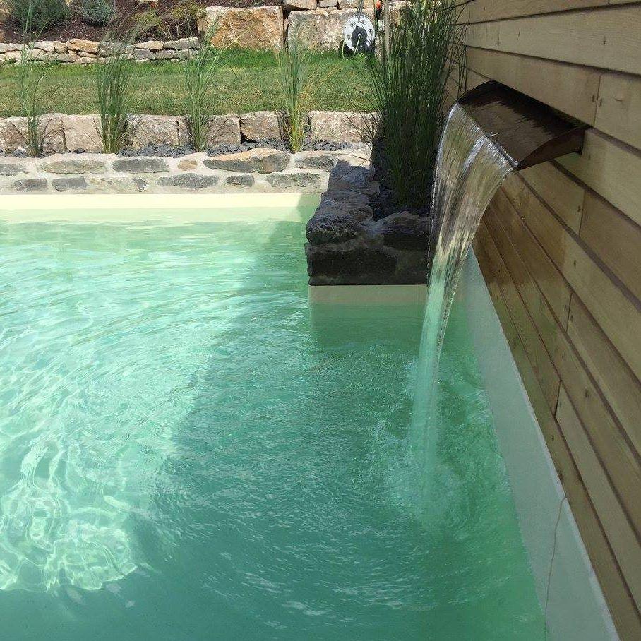 Wasserbecken Garten; kleiner Pool by Gartengestaltung Sven