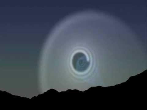 Ovni abre um portal Stargate ou Caminho de Minhoca