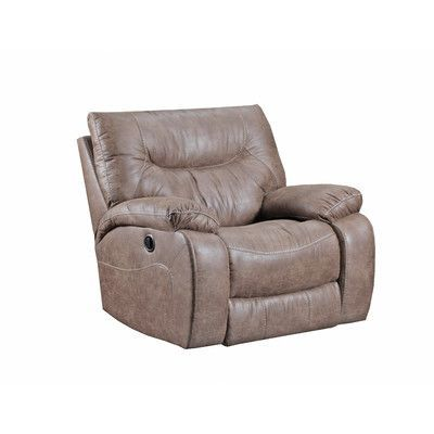 Three Posts Marienville Saddle Cuddler Recliner