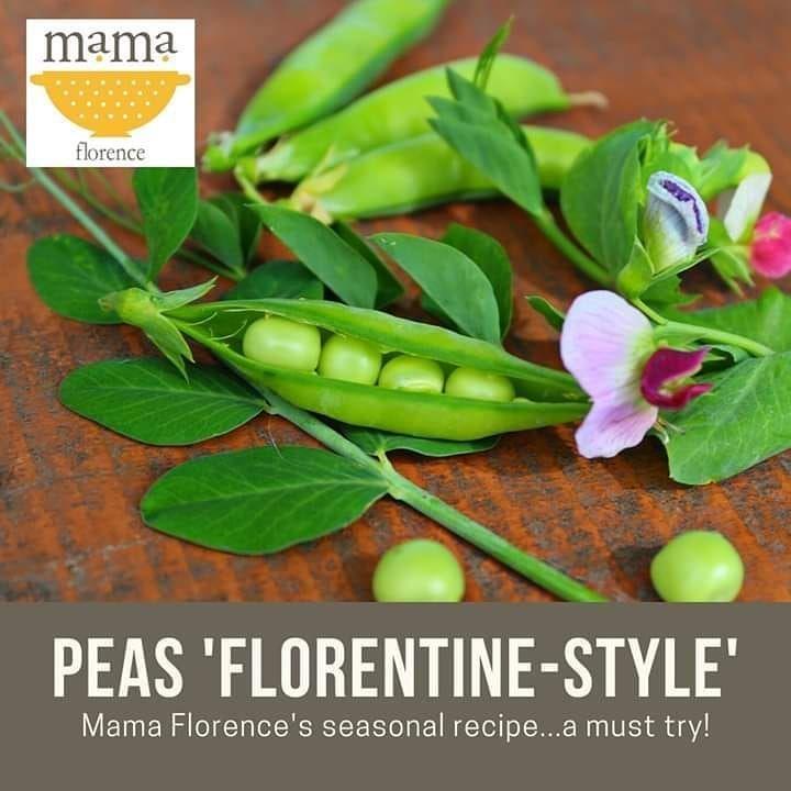 'FLORENTINE-STYLE' PEAS  #bestoftheday #cibo #cucina #delicious