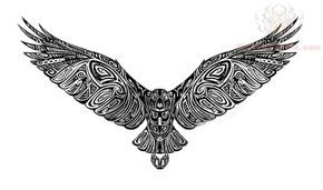 tribal crow tattoo design tatto ideas pinterest tattoo designs rh pinterest com Crow Tribal Tattoos for Men Crow Tribal Tattoos for Men