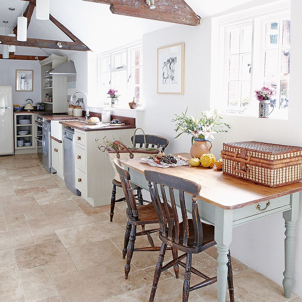 Kitchen flooring ideas – for a floor that's hard wearing ...