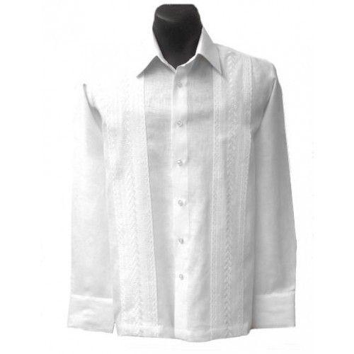 Cubavera Men S 100 Linen Popover Long Sleeve Shirt Reviews Casual Button Down Shirts Men Macy S Long Sleeve Shirts Mens Beach Shirts Guayabera Shirt