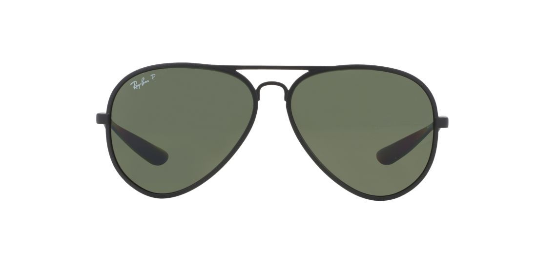 86f64f757a Ray-Ban RB4180 59 Aviator Liteforce. Polarized. Black Green.  219.95.  Sunglass Hut UPC 713132841426
