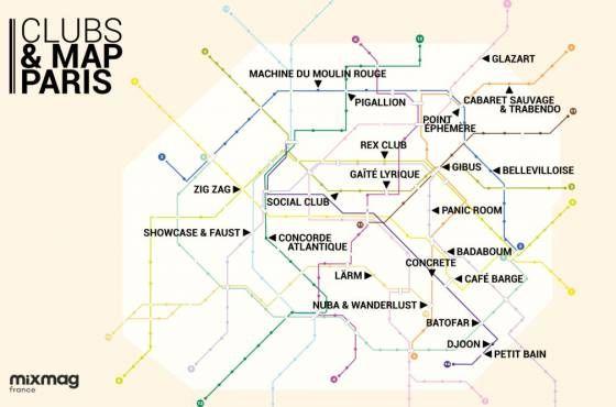 Club&Map Pars de Mixmag.
