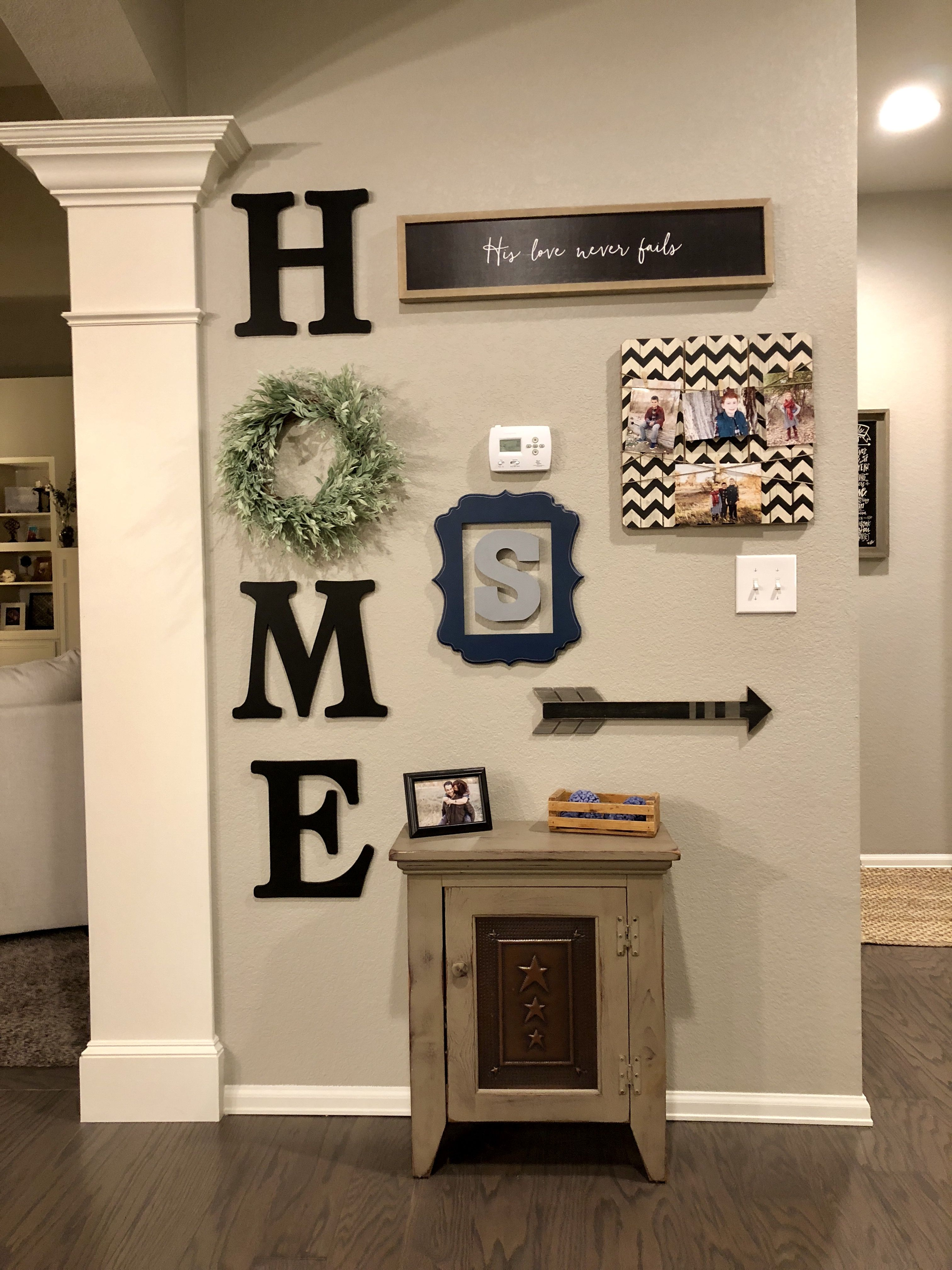 Creating A Rustic Living Room Decor: Copied These Ideas And Combined Them To Make My Own Rustic