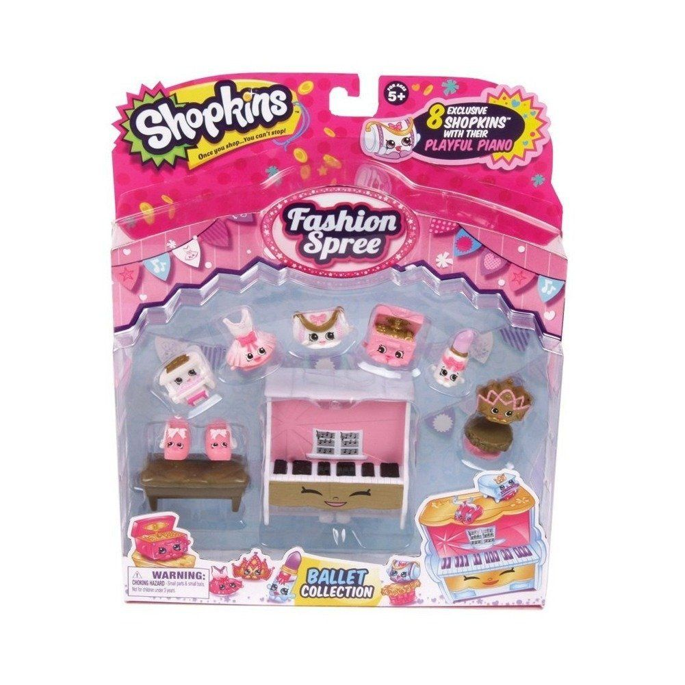 Shopkins S3 Fashion Spree Themed Pack Ballet