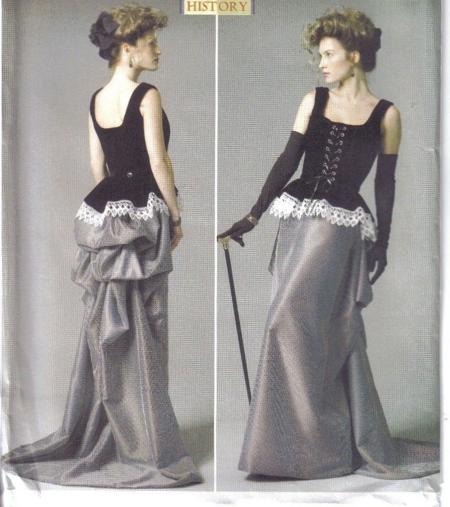 Butterick Sewing Pattern Misses Historical Costume LARP SCA ...
