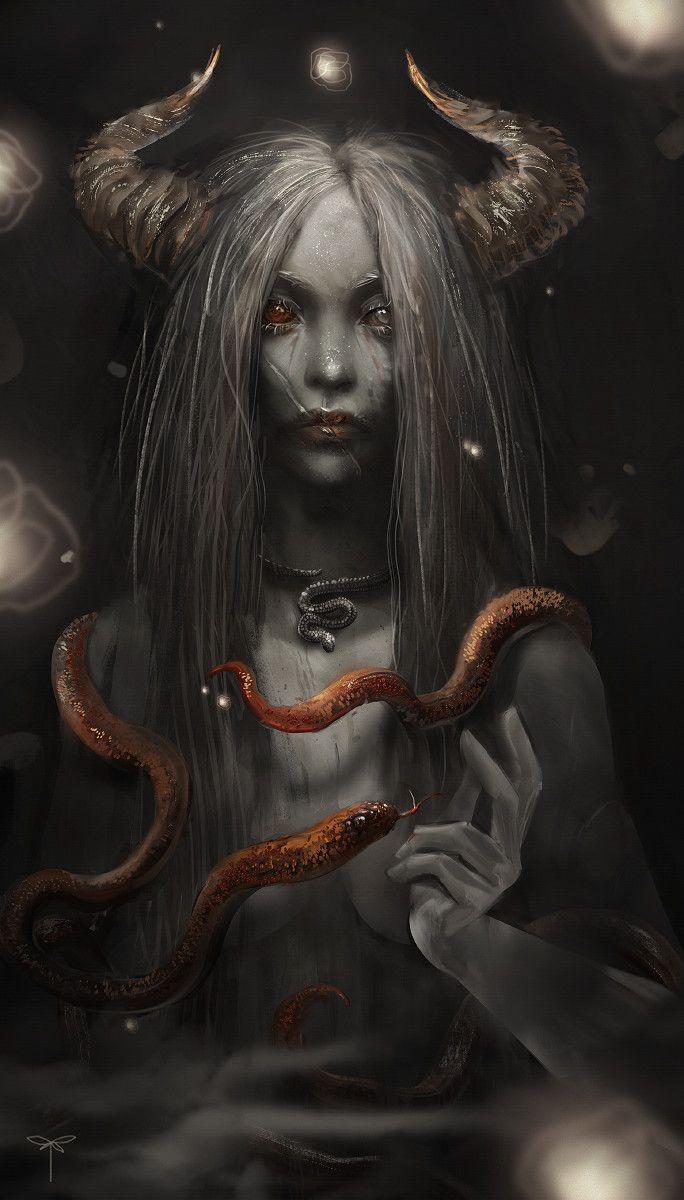 Snake Enchantress, Sandra Duchiewicz #mygirl
