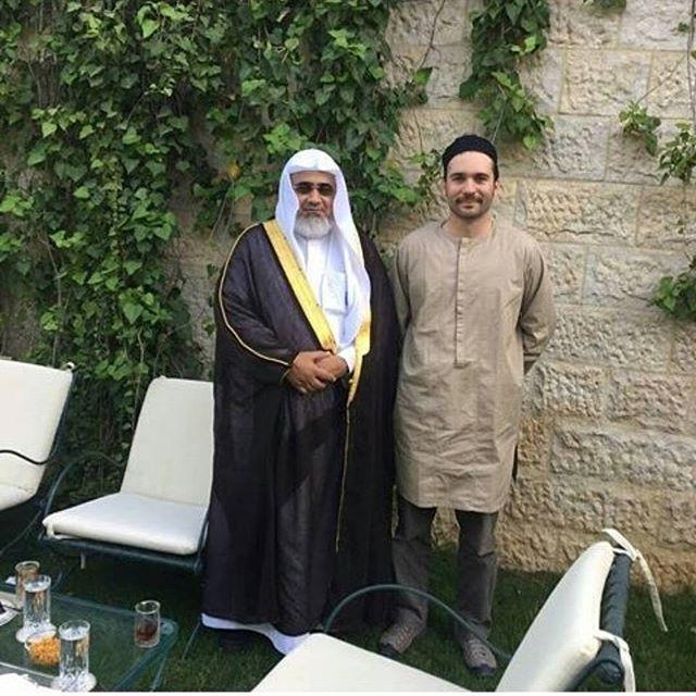 Websta Hashemitefamily الأمير هاشم بن الحسين والداعية الدكتور حاتم آل عون Prince Hashim Bin Al Hussein And Minister Roman Era Ancient Kingdom Present Day