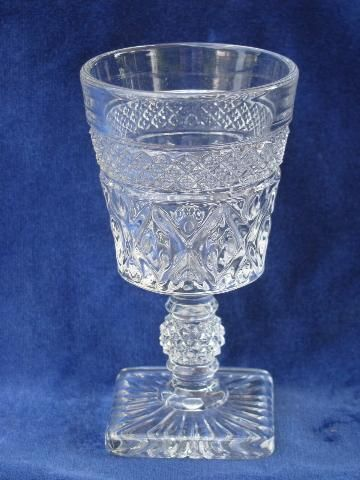 Vintage Crystal Stemware Bar Glasses Glass Crystal Stemware Wine Glasses