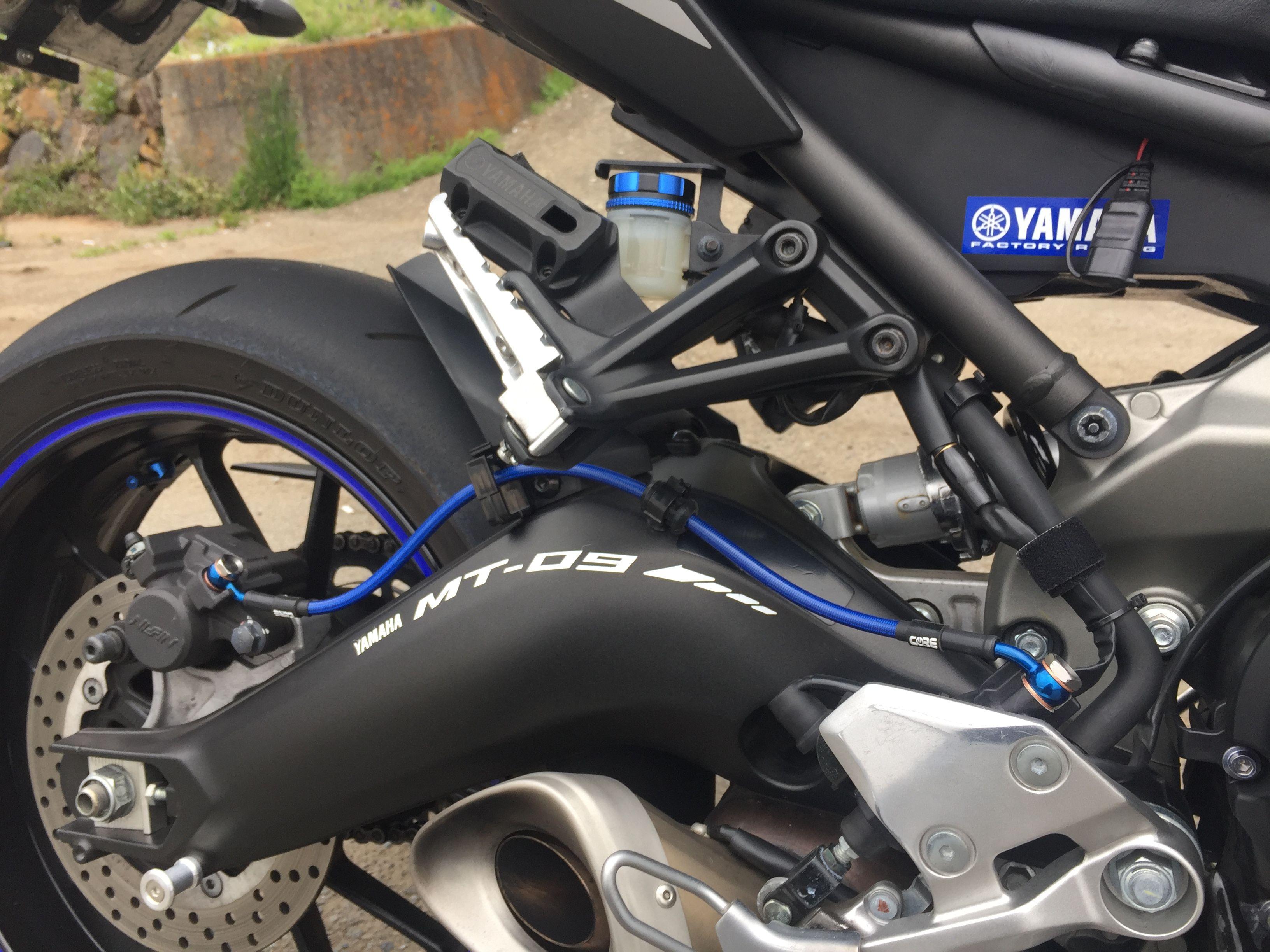 Moto yamaha scrambler cars motorcycles bobber forward mt09 yamaha - Coremoto Mt 09