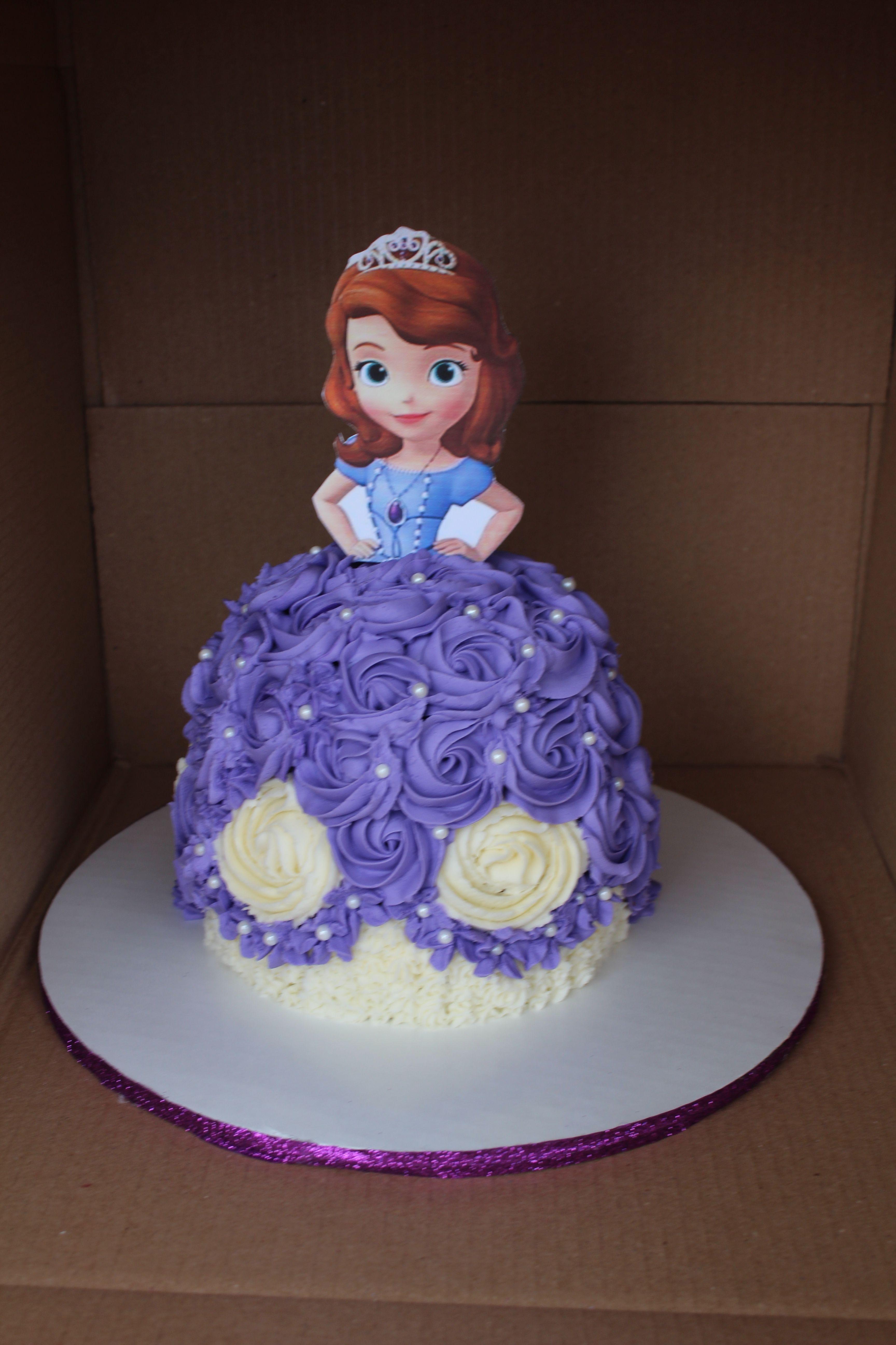 Princess sophia doll cake doll cake bakery cakes