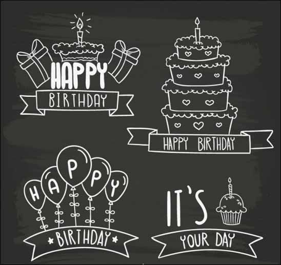 45 Best Printable Free Happy Birthday Images Handlettering