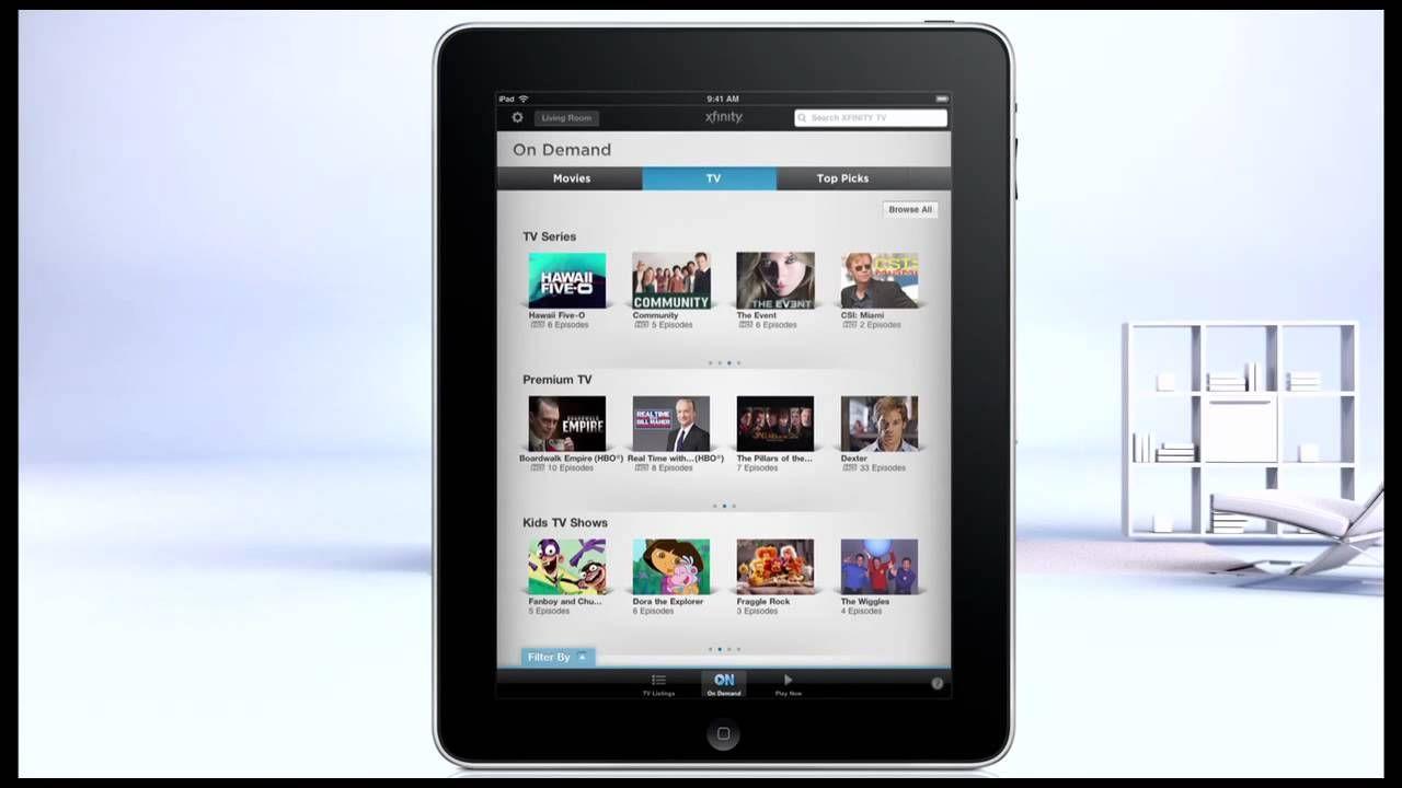 XFINITY XFINITY TV App Overview
