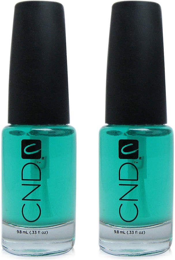 Cnd Creative Nail Design Stickey Base Coat Duo Two Items 0 33 Oz From Purebeauty Salon Spa