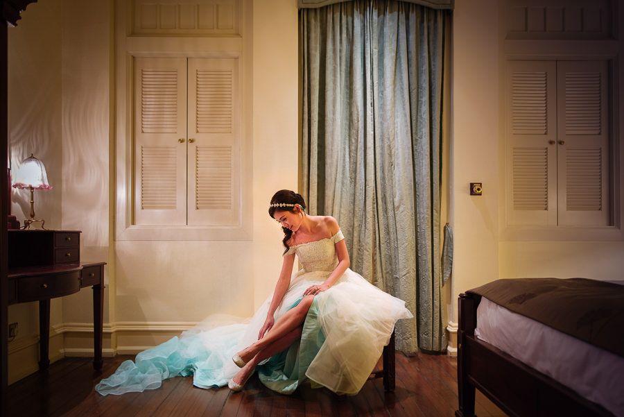 Wedding at Raffles Hotel Singapore Actual