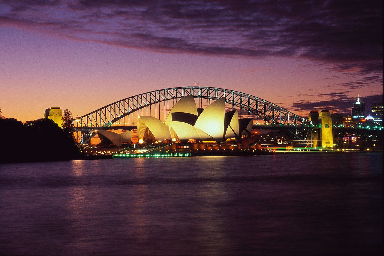 Sydney harbour: Sydney, Australia SIX months until I move here! So excited :)