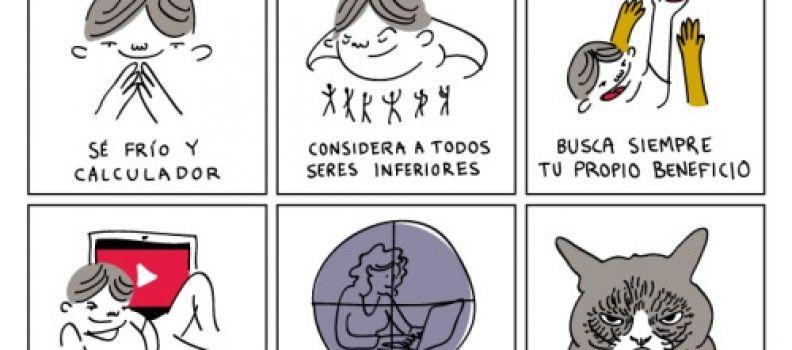 Ilustraciones cínicas para despertar la conciencia