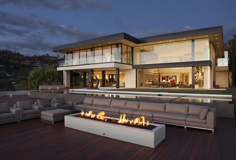 Sunset Strip Résidence in Los Angeles by McClean Design